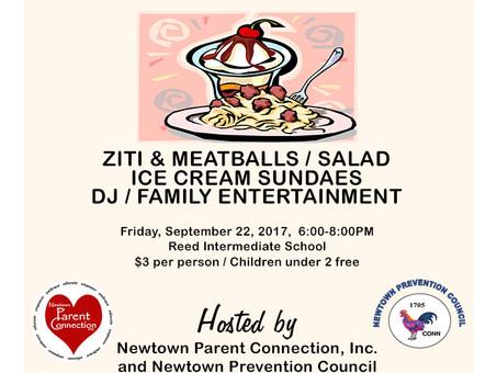 Family Dinner Night September 26, 2017