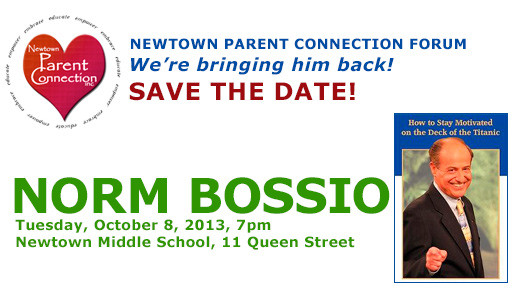 Norm Bossio - Newtown Parent Connection Forum