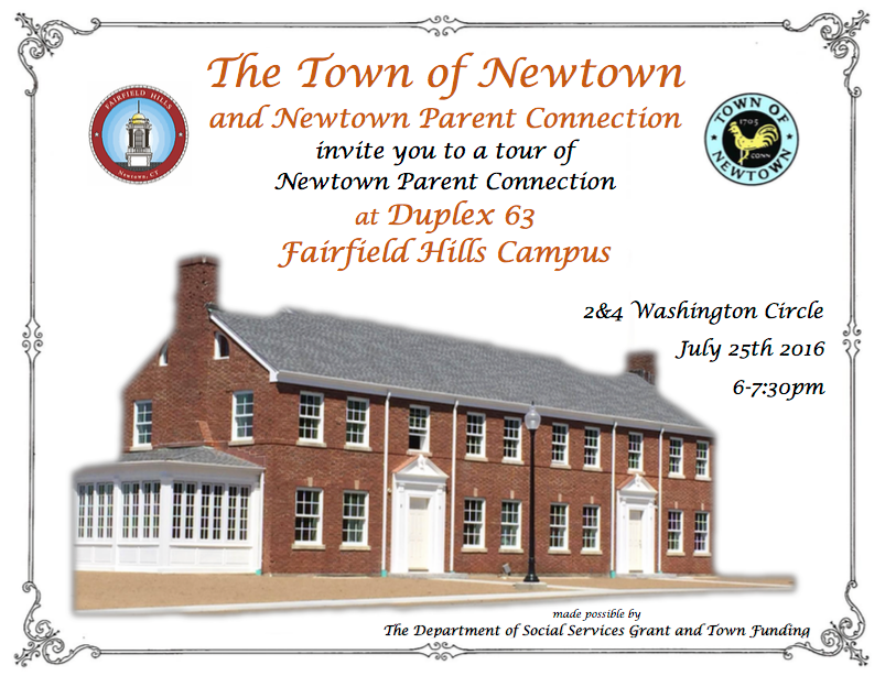 Town of Newtown and Newtown Parent Connection Tour