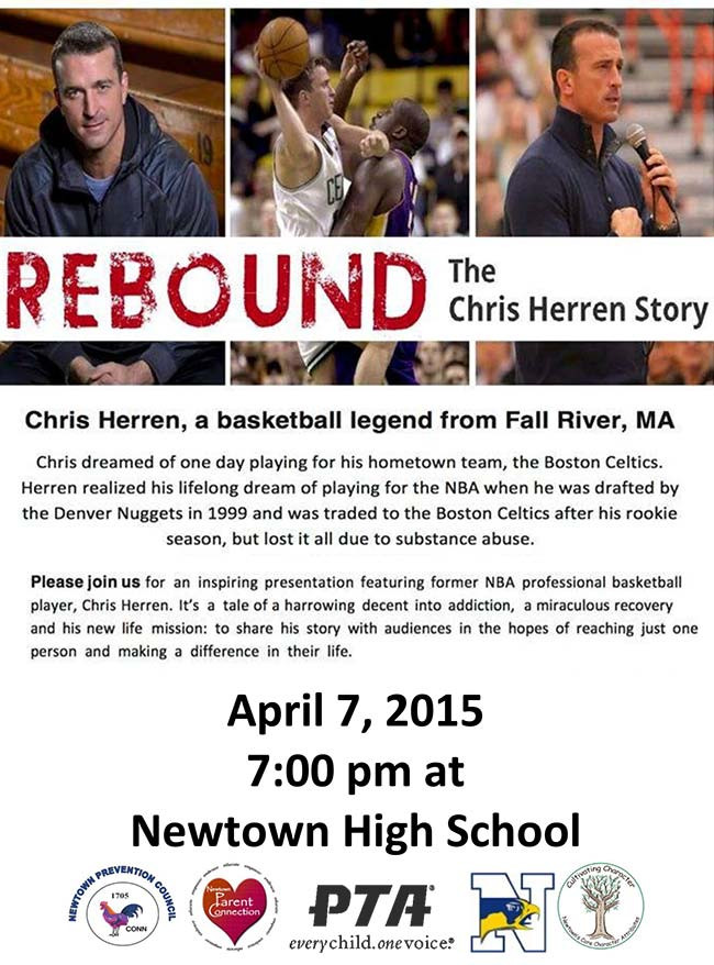 Chris Herren Newtown High School April 2015