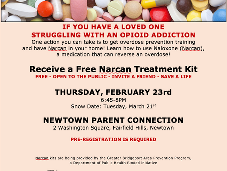 Opioid Overdose Prevention & Narcan Training