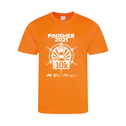 Plymouth 10k Finishers T-shirt 2021