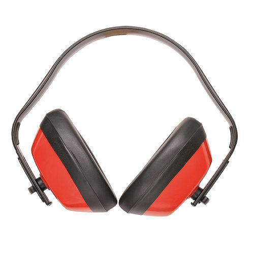 PW40 - Classic Ear Protector  Red