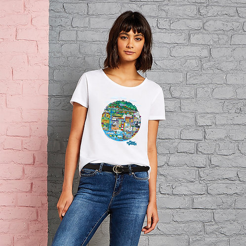 Ladies Planet Plymouth T-Shirt X Steve Evans