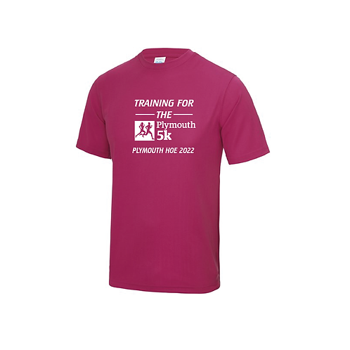 Training for the Plymouth 5k 2022 Running Shirt