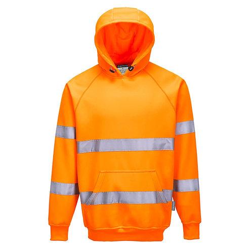 B304 Hi-Vis Hooded Sweatshirt