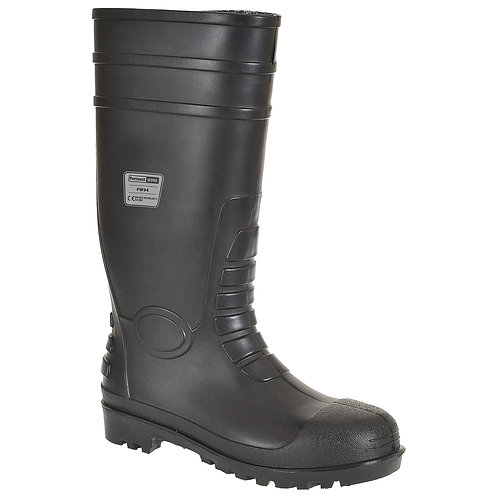 FW94 - Classic Safety Wellington S4  Black