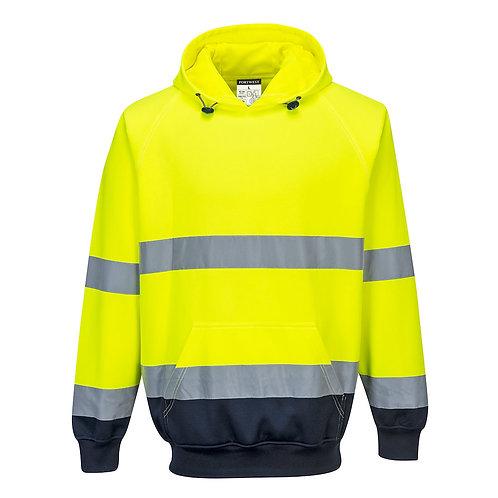 B316 Two Tone Hooded Sweatshirt