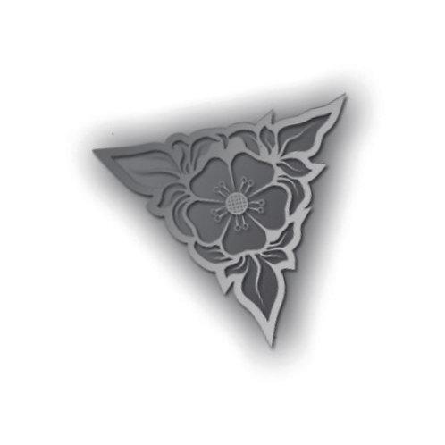 Mayflower 400 Rose Pin Badge - MF39