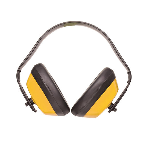 PW40 - Classic Ear Protector  Yellow