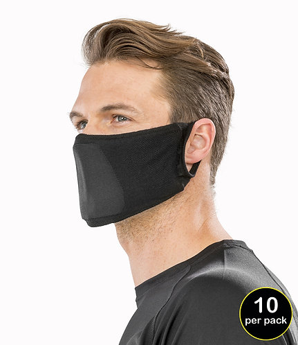 Face Masks - Anti Bacterial Pack of 10