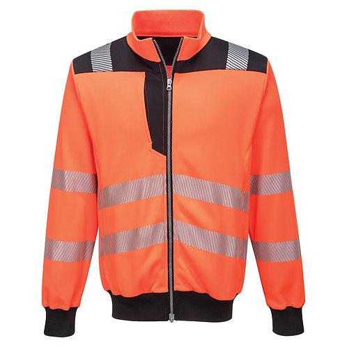 PW370 - PW3 Hi-Vis Sweatshirt  Orange/Black