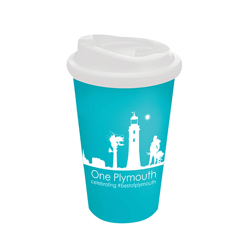 Aqua One Plymouth Cup with Non-Spill Lid