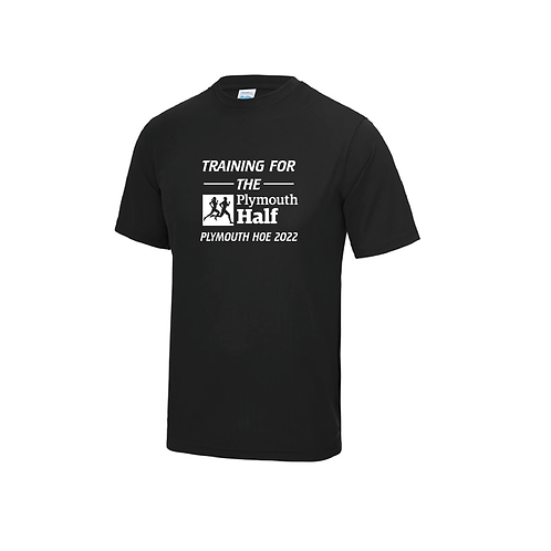 Training for the Plymouth Half 2022 Running Shirt