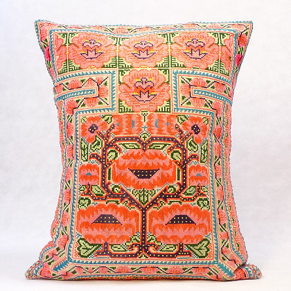 Hmong embroidered cushion LC14