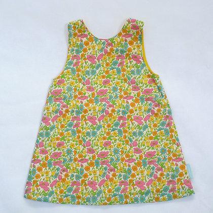 Liberty print summer dress D1