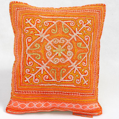 Hmong embroidered cushion SC11