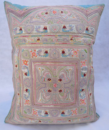 Hmong embroidered cushion LC22