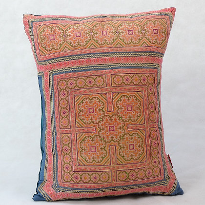 Hmong embroidered cushion LC10