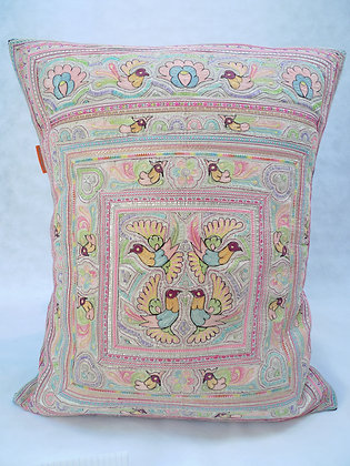 Hmong embroidered cushion LC21