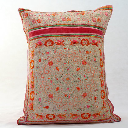 Hmong embroidered cushion LC15