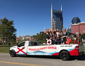 Nashville's top party tour; Nashville bachelorette party things to do