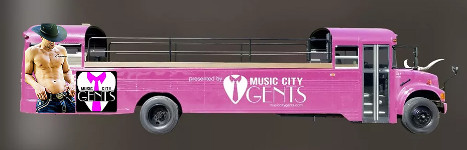 Music City Gents Party Bus