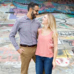Couple Photography on Atlanta Beltline