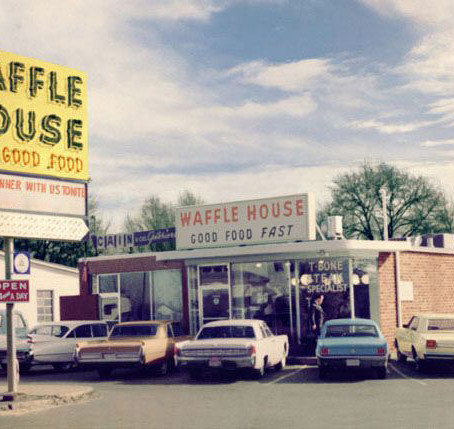 Avondale Estates - home of the waffle house