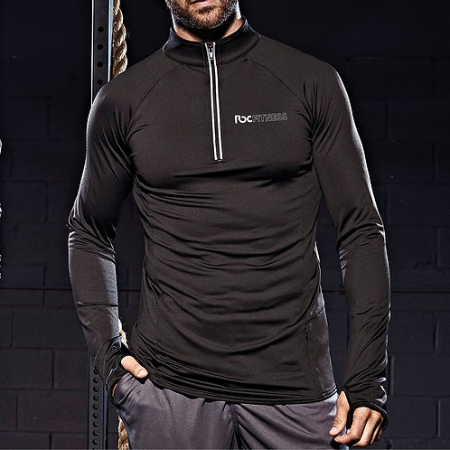 ROC Fitness Cool-Flex™ Half Zip Top