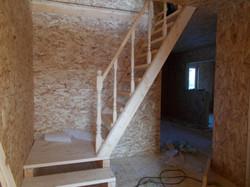 установка временной лестницы