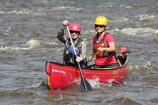 Canoeing at Rapids Park.JPG
