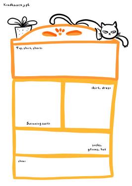 Organizowanie szafy