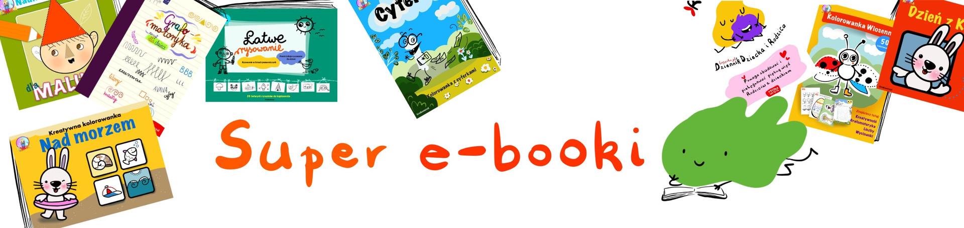Super e-booki Kredki