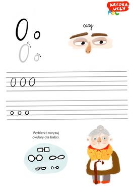Alfabet Literka O
