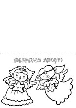 Kartka aniolki