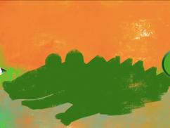 Jak narysować krokodyla- KROK PO KROKU