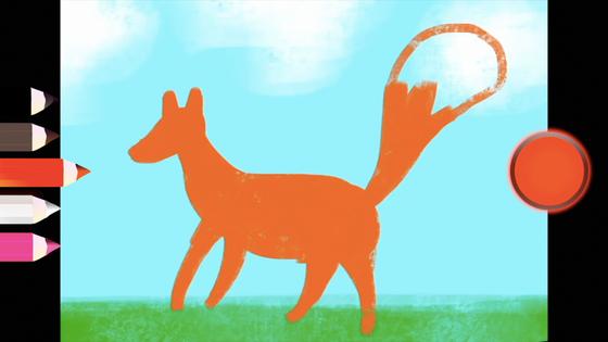 Jak namalować lisa- KROK PO KROKU