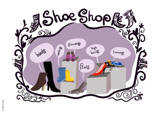 Shoe Shop plakat