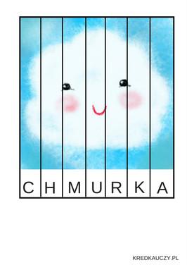 Chmurka Puzzle Paski