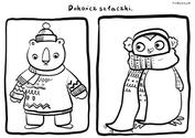 Szlaczki Zimowe