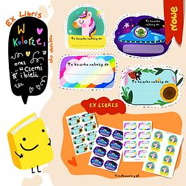 ExLibris dla dzieci do druku
