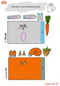 Szablony Krolik i Wiewiorka kolor