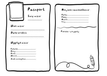 Paszport dla Misia