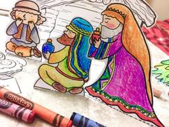 Scenka na Boze Narodzenie <3 SZABLONY