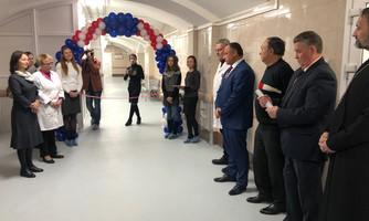 В больнице Семашко открылось новогодние отделение