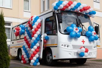 В Пушкинском районе открылся передвижной стоматологический комплекс