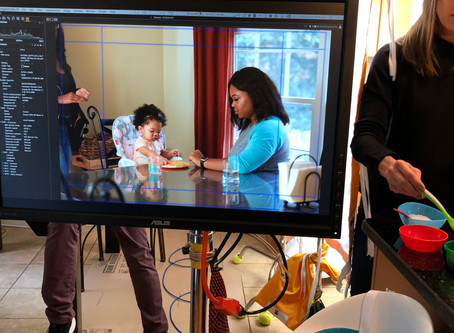 Our shoot with Children's Healthcare of Atlanta (CHOA)