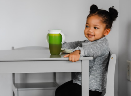 Transitioning from High Chair to Table
