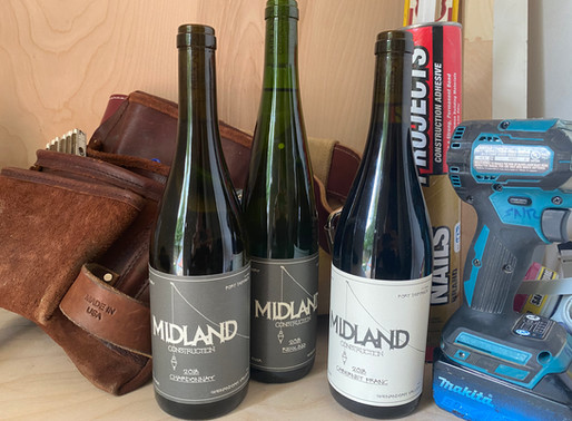 Midland Wine - a great pairing with your next construction project